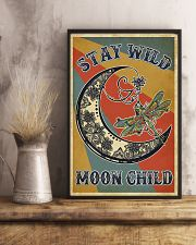 Retro Stay Wild Moon Child Dragonfly 11x17 Poster lifestyle-poster-3