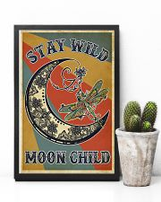Retro Stay Wild Moon Child Dragonfly 11x17 Poster lifestyle-poster-8