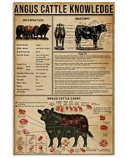 Angus Cattle Knowledge 16x24 Poster front