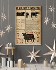 Angus Cattle Knowledge 16x24 Poster lifestyle-holiday-poster-1