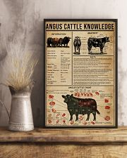 Angus Cattle Knowledge 16x24 Poster lifestyle-poster-3