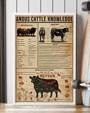 Angus Cattle Knowledge 16x24 Poster lifestyle-poster-4