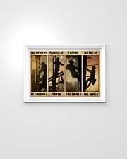 Electrician I Am The Keeper Of Currents 24x16 Poster poster-landscape-24x16-lifestyle-02
