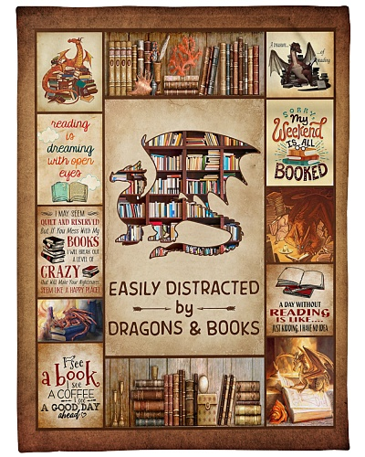 Easily Distracted By Dragons And Books