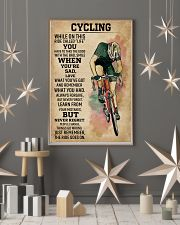 While On This Ride Called Life Cycling 11x17 Poster lifestyle-holiday-poster-1