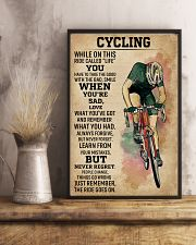 While On This Ride Called Life Cycling 11x17 Poster lifestyle-poster-3