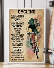 While On This Ride Called Life Cycling 16x24 Poster lifestyle-poster-4