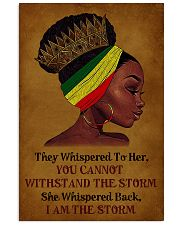 I Am The Storm Black Girl 11x17 Poster front