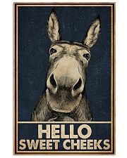 Navy Hello Sweet Cheeks Donkey 16x24 Poster front