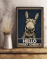 Navy Hello Sweet Cheeks Donkey 16x24 Poster lifestyle-poster-3