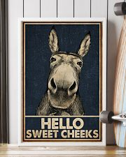 Navy Hello Sweet Cheeks Donkey 16x24 Poster lifestyle-poster-4