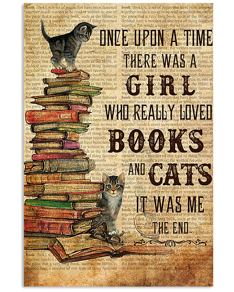Books Cats Once Upon A Time 11x17 Poster