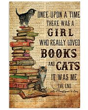 Books Cats Once Upon A Time 11x17 Poster front