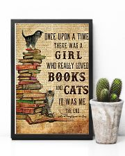 Books Cats Once Upon A Time 11x17 Poster lifestyle-poster-8