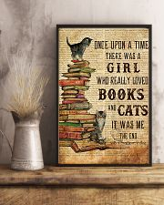 Books Cats Once Upon A Time 16x24 Poster lifestyle-poster-3