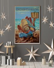 Beach Girl And She Lived Happily 16x24 Poster lifestyle-holiday-poster-1