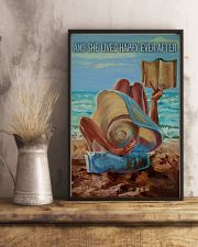 Beach Girl And She Lived Happily 16x24 Poster lifestyle-poster-3