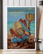 Beach Girl And She Lived Happily 16x24 Poster lifestyle-poster-4
