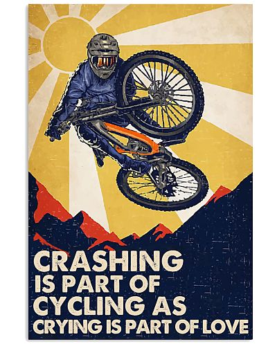 Crashing Is Part Of Cycling