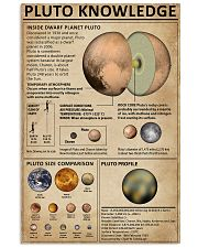 Knowledge Pluto Planet 11x17 Poster front