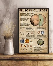 Knowledge Pluto Planet 11x17 Poster lifestyle-poster-3
