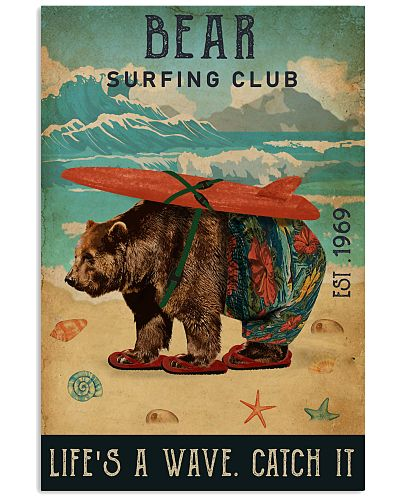 Surfing Club Bear