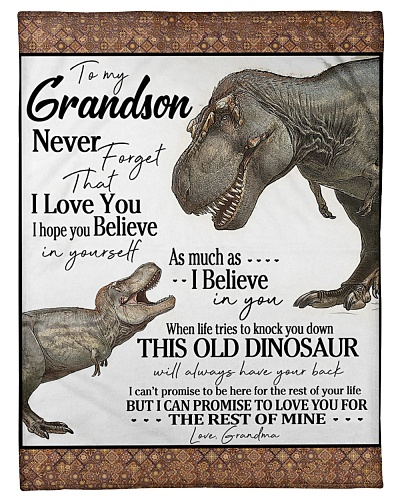 Grandma To Grandson Always Have Your Back Dinosaur