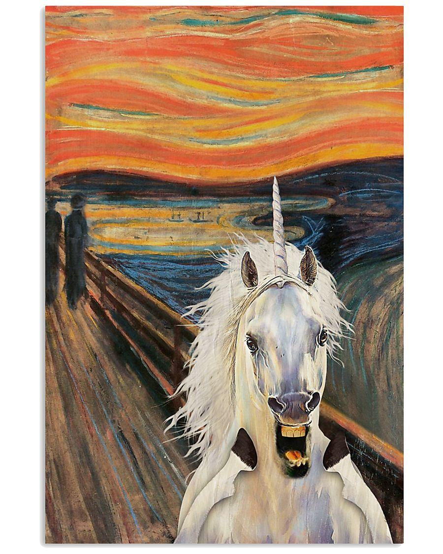The Scream Unicorn 11x17 Poster