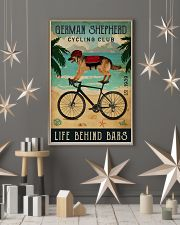 Cycling Club German Shepherd 11x17 Poster lifestyle-holiday-poster-1