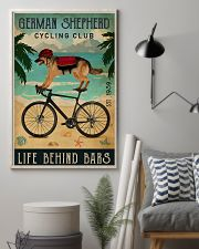 Cycling Club German Shepherd 11x17 Poster lifestyle-poster-1