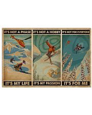 It's For Me Skiing 24x16 Poster front