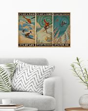It's For Me Skiing 24x16 Poster poster-landscape-24x16-lifestyle-01