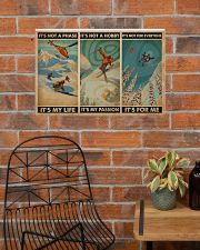 It's For Me Skiing 24x16 Poster poster-landscape-24x16-lifestyle-24