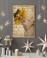 Music Sheet Sunflower My Sunshine Pig 16x24 Poster lifestyle-holiday-poster-1