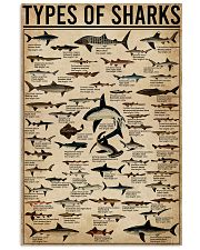 Types Of Shark Animal 16x24 Poster front