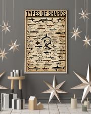 Types Of Shark Animal 16x24 Poster lifestyle-holiday-poster-1