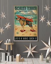 Surfing Club Border Terrier 11x17 Poster lifestyle-holiday-poster-1