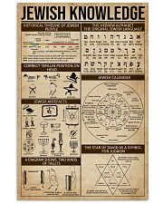 Jewish Knowledge 16x24 Poster front