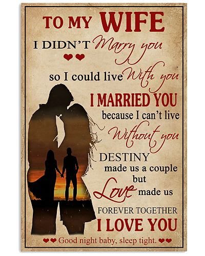 Love Made Us Forever Together Husband To Wife