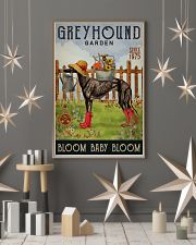 Gardening Bloom Baby Greyhound 16x24 Poster lifestyle-holiday-poster-1