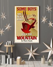 Some Boys Born With The Mountain Skiing 16x24 Poster lifestyle-holiday-poster-1