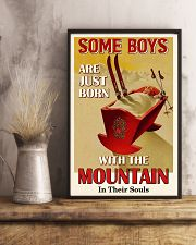 Some Boys Born With The Mountain Skiing 16x24 Poster lifestyle-poster-3