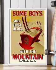 Some Boys Born With The Mountain Skiing 16x24 Poster lifestyle-poster-4