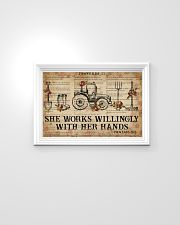 Catchphrase Works Willingly With Hand Farmer 24x16 Poster poster-landscape-24x16-lifestyle-02