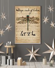 Music Sheet Let It Be Dragonfly 16x24 Poster lifestyle-holiday-poster-1