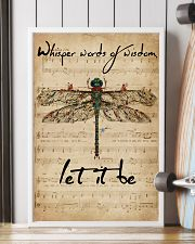 Music Sheet Let It Be Dragonfly 16x24 Poster lifestyle-poster-4
