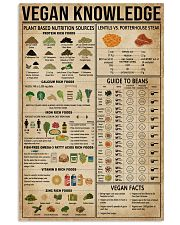 Vegan Knowledge 16x24 Poster front