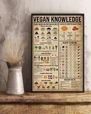 Vegan Knowledge 16x24 Poster lifestyle-poster-3