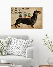 Dictionary Distracted By Dachshund And Gardening 24x16 Poster poster-landscape-24x16-lifestyle-01