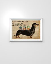 Dictionary Distracted By Dachshund And Gardening 24x16 Poster poster-landscape-24x16-lifestyle-02